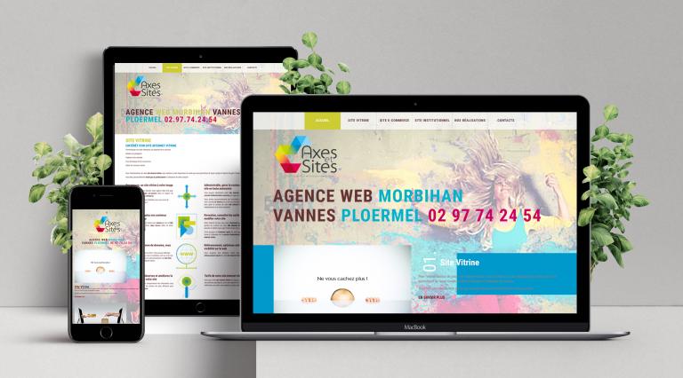 """Création de site web """"Responsive"""" · Site vitrine sur mesure et à votre image, personnalisé selon votre charte graphique"""