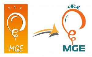 Refonte de logo pour MGE,une étape importante lors de la création de leur site web