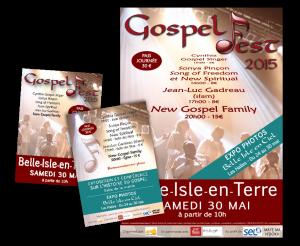 IMAGE & COMMUNICATION VISUELLE : Affiche & Flyer - Céline clique pour vous en Bretagne et pour toute la France
