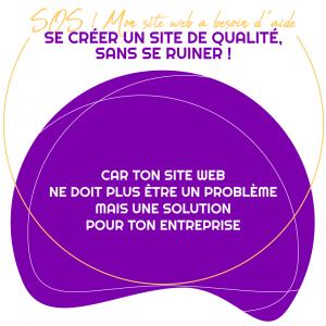 Besoin d'aide pour créer ton site web de qualité, pro, propre et bien rangé !