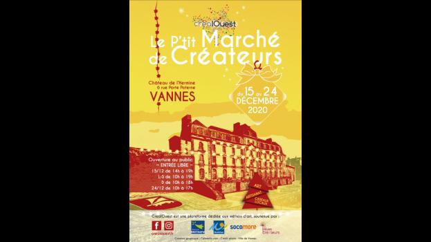 Affiches et visuels Réseaux sociaux crées pour l'événement CrealOuest [Mise en page + retouche Image ]