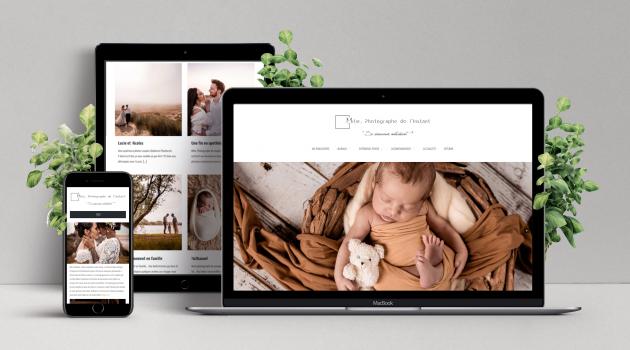 REFONTE DE SITE WEB [ Transformation du site web pour l'optimisation de l'affichage sur tous support (ordinateur, tablette et mobile